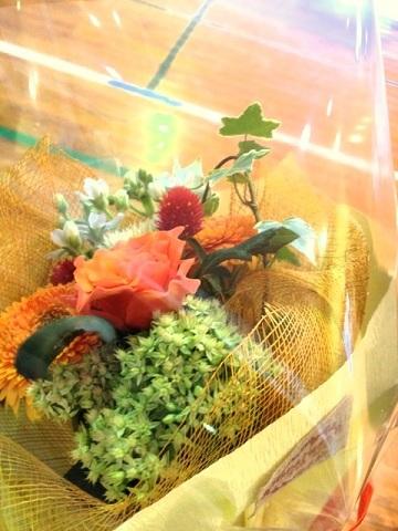 お礼の花束