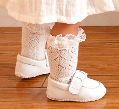 フォーマルなデザインのベビー靴