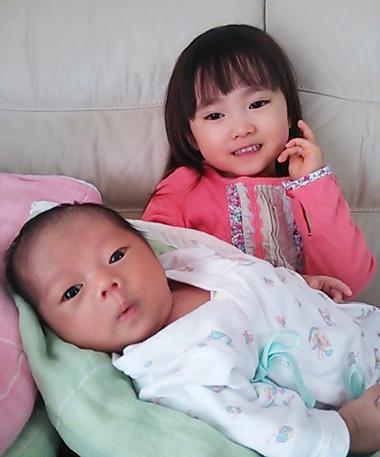 かわいいお姉ちゃんと弟ちゃん♪
