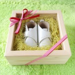 出産祝いに最適なベビーシューズ&ボックス