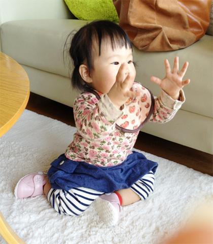 赤ちゃんの手遊び