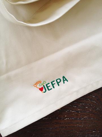 JEFPAエプロン