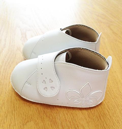 ゆりちゃんのベビー靴