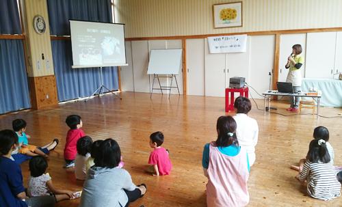 いづみ保育園での足育講座スタート