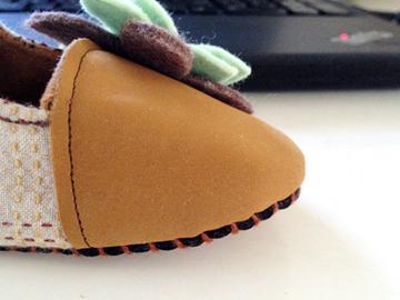 サンプル布靴