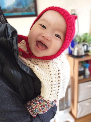 赤ずきんの赤ちゃん