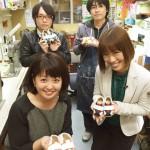 高知放送・有吉都さんと記念撮影