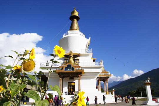 ブータン・ティンプーの寺院
