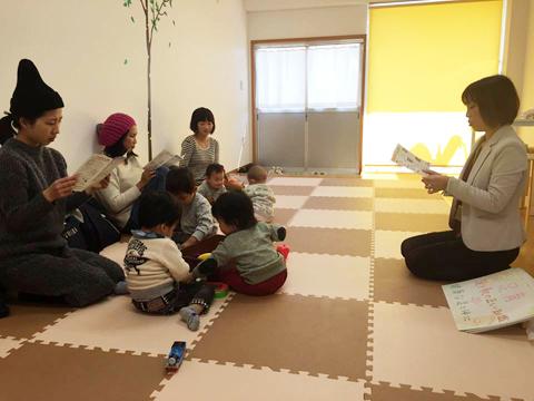 ベビーサイン教室での足育講座