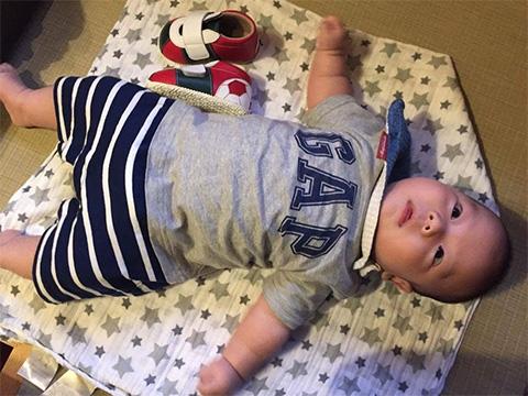 赤ちゃんと靴