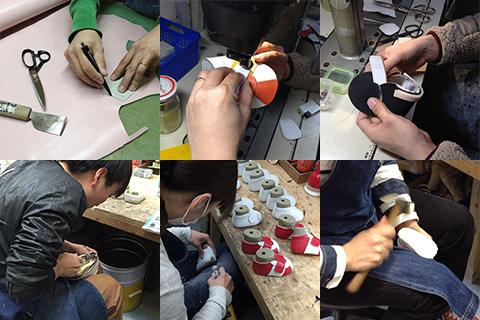 靴製作の流れ