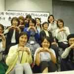 足育アドバイザーのみんなと先生で記念写真